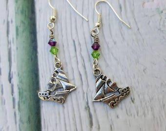 Ariel Charm Earrings