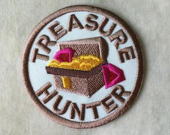 Treasure Hunter Iron On Patch