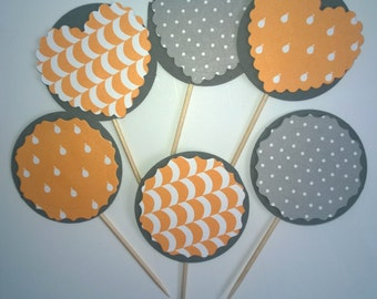 Cupcake toppers/Cupcake wrappers/Cake toppers/Cake wraps/Birthday decor/Party decor/Childs Party decor/Baby shower decor