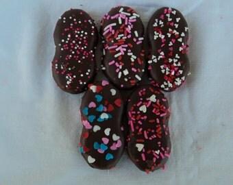 Milk Chocolate Peanut Butter Cookies