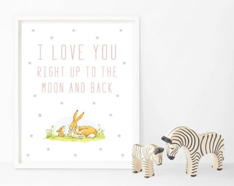 I Love You To The Moon And Back Rabbit