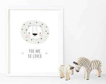 Your Are So Loved - Monochrome - Changeable Characters