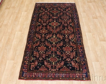 Excellent Signed Tribal Hamedan Runner Persian Oriental Area Rug Sale Sale 5X10