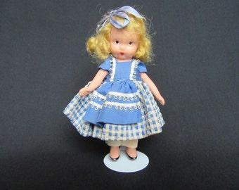 Nancy Ann Storybook Doll #117, School Days, Bisque Nancy Ann Storybook Doll