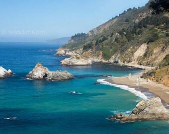 California Coast - Fine Art Travel Photography Prints - Matted