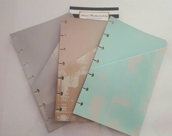 Mini Happy Planner Pocket Inserts in Spring Colors