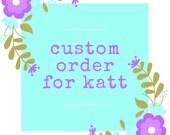 Cutom Listing for Katt