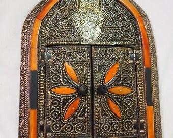 authentic handmade Moroccan mirror/brass mirror/silver mirror