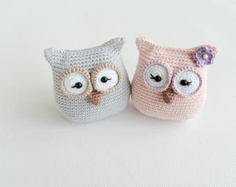 Crochet Owl Pattern, PDF, only English