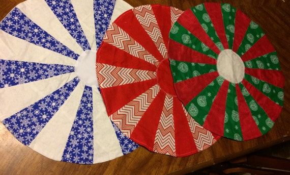 Christmas theme Circle Center pieces*Variety to choose from*