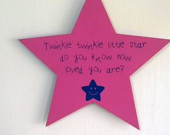 Twinkle twinkle little star, do you know how loved you are, most popular item, little star, twinkle twinkle, nursery decor, precious little
