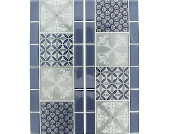 Mosaic sticker 30 x 12 cm - Stickers mosaic - tile adhesive - tile sticker - Friesland sticker