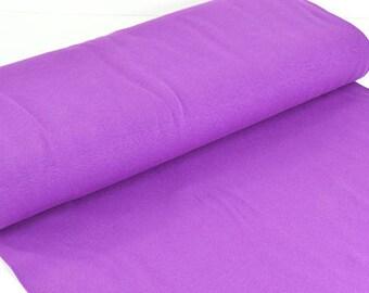 Cuff uni Extrabreit purple - fine knitting