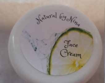 Natural Face Cream, Face Cream, Face Moisturizer, Natural Face Moisturizer, Homemade Face Cream, Homemade Moisturizer