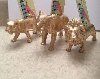 Unique and Fierce King of the Jungle Zoo Animal Business Card Holders