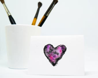 Greeting Card 'Love' (Small) - ORIGINAL