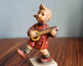 Goebel Hummel  'Happiness' Figurine 86  Repaired pigtail