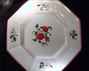 Fitz & Floyd * FRAISE DE BOIS * Salad Plate