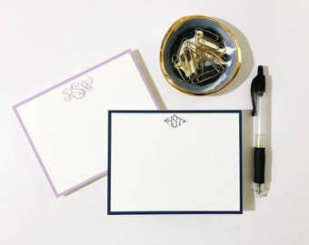 Bespoke Monogram Cards (25)