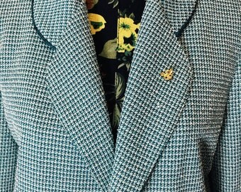 Vintage 1960s Handmade Tweed Jacket