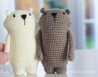 Mr. Luiwood mini* crochet * Amigurumi * pattern * LuiLuh.handmade * language: english and german