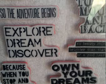 Stampers anonymous tim holtz life quotes