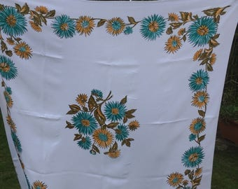Striking vintage tablecloth