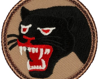 66th Infantry (Black Panthers) Patch (677) 2 Inch Diameter Embroidered Patch