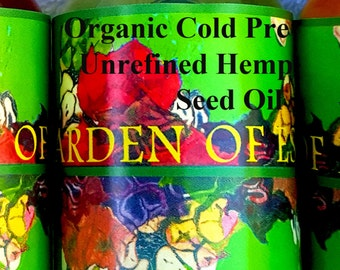 Organic Hemp Seed Oil UNREFINED Cold Pressed EXTRA VIRGIN bulk wholesale, Carrier Oil, Massage Oil, Facial Oil, Body Oil, Hair Oil