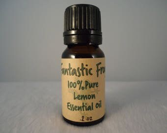 Lemon 100% Pure Essential Oil .2 oz