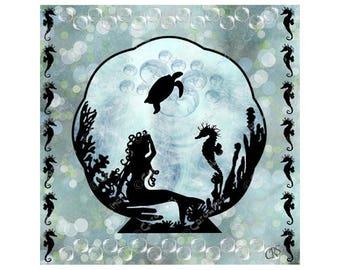 Undersea Silhouette 1