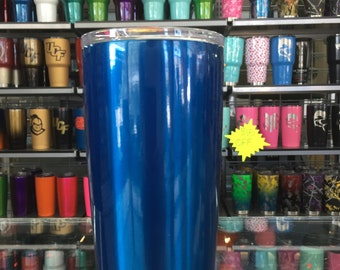 ROYAL BLUE powdercoated yeti 20oz