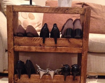 2 shelf shoe rack or book case