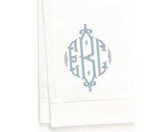 Camden Hand Towel, White Linen