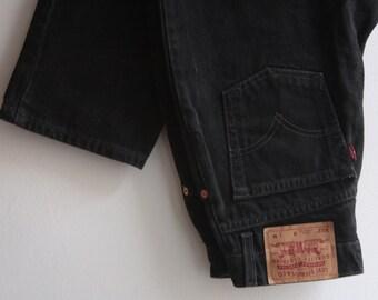 Levis 512 size M Mom jeans black 80s 90s high waist pants