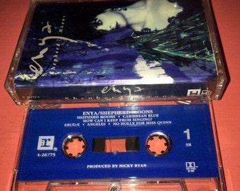 Enya Shepherd Moons Cassette Tape