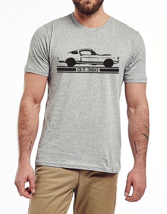 Classic Ford Mustang T Shirt Grey By Xbrosapparel On Etsy