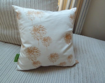 Scattered Dahlia Cushion