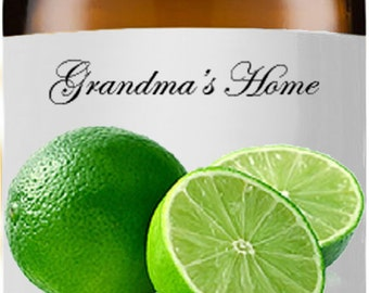 Lime Oil- 5mL+ - Grandma's Home 100% Organic, Pure and Natural Theraputic Aromatherapy Grade Essential Oils