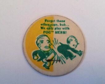 Vintage Humor Pog, Milk Caps, Man Kicking other Man Pog, Milk Cap, Game, Classic Milk Caps, Vintage Toys, Old Toys, Pogs, Vintage Game