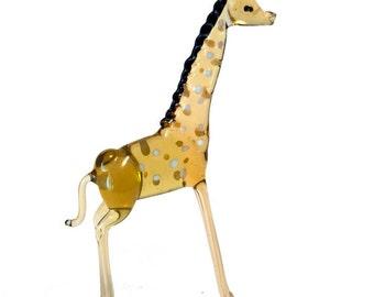 "The figurine from a glass ""giraffe"""