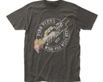 Pink Floyd wish you were here '75 fitted jersey tee (PF44)