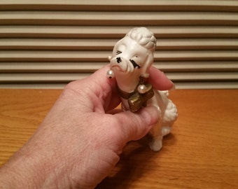 Vintage Napcoware Poodle figurine, NR