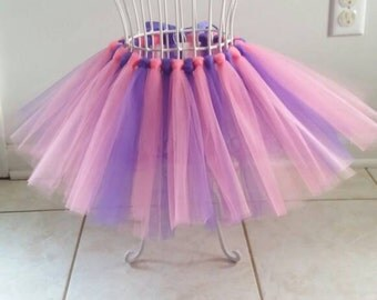 Handmade Pink & Purple tutu! Custom color combinations available!