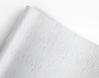 BIRCH WRAPPING PAPER  | White | Custom Design Paper | A Portion of Proceeds go to Charity