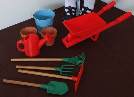 Zisa gardening set, for 18 inch dolls