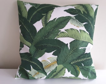 "Pillow cover ""banana leaf"""