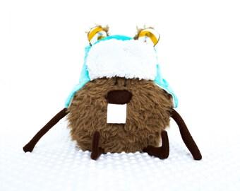 stuffed animal - stuffed animal zoo -  beaver - toys - baby toys - animal - woodland animals - plush - plushie - plushies - toys for kids