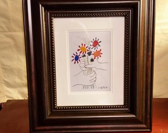 Original Pablo Picasso Lithograph with Certificate of Authenticity