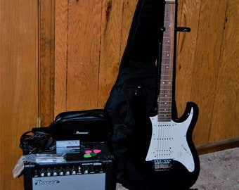 Ibanez GiO Electric Guitar, Amp and Tuner, etc. Kit ***PRICE REDUCED***